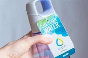 New In: KOR water bottle