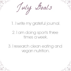 Goals Of The Month:JULY