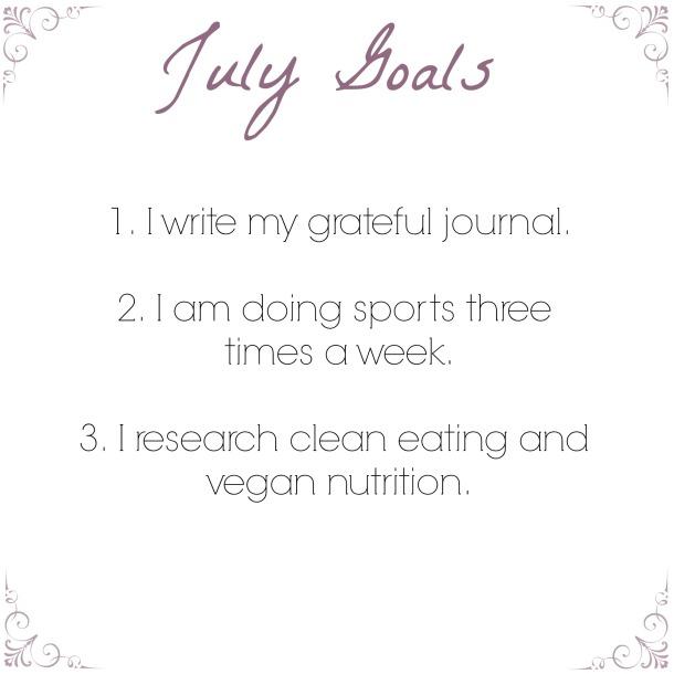 July Goals
