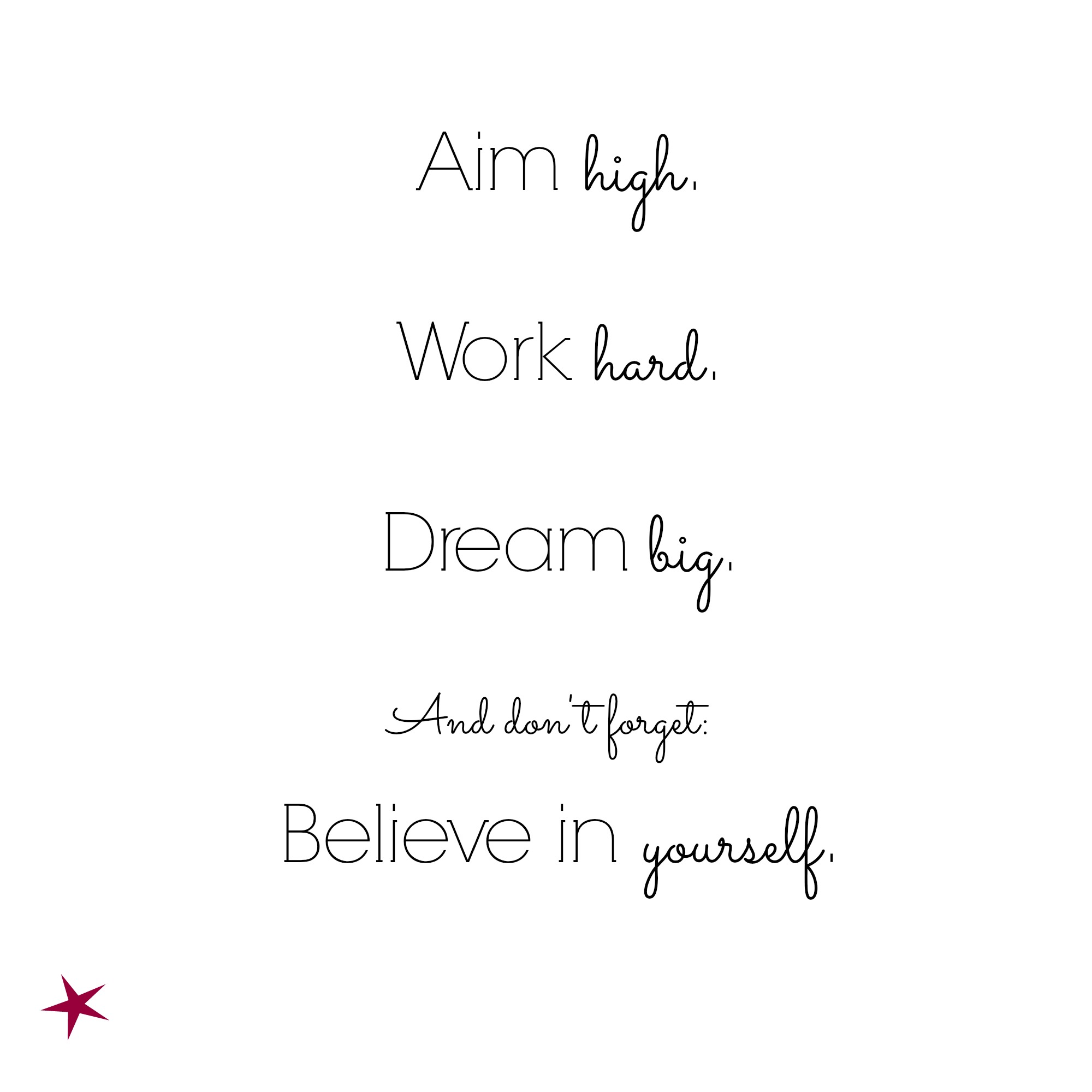 Quote Of The Week Dream Big So This Is What