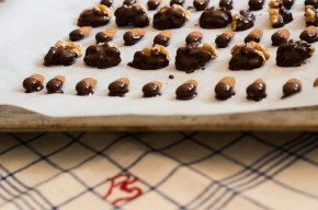 Chocolate +  Nuts =Perfection
