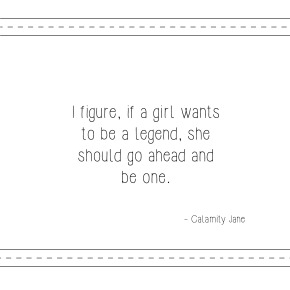 Quote Of The Week – Be A Legend